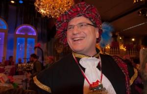 Bausback zu Gast bei Fastnacht in Franken: Als Schotte in einer närrischen Sendung