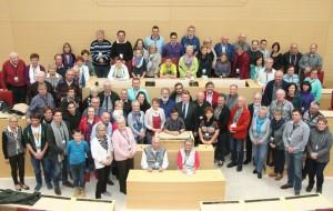 Zu Gast im Landtag: Bürger blicken in die Politikwelt