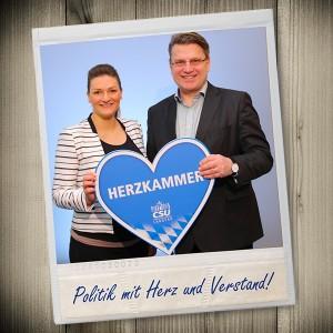 """CSU-Fraktionsmagazin jetzt auch regional: Heute ist unsere Erstausgabe der """"Herzkammer"""" erschienen."""
