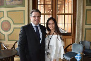 Praktikum im Landtagsbüro: Erfahrungsbericht einer jungen Kolumbianerin