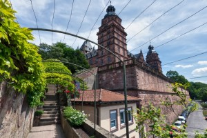 Lieblingsort in Bayern: Gang vom Aschaffenburger Schloß zum Pompejanum