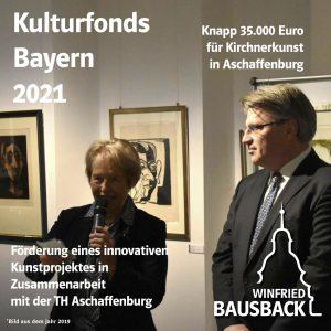 Mittel aus Kulturfonds Bayern 2021 für historische Kirchnerkunst